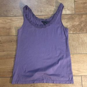 Sz small banana republic purple tank
